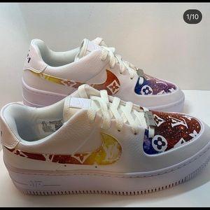 """Nike AF 1 Sage """"Louis Vuitton Galaxy"""""""
